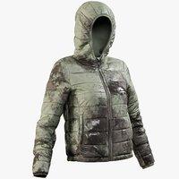 Womens Down Jacket 2 Mud