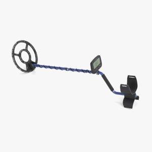 3D metal detector used model