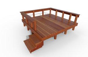 3D sun deck