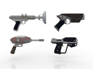 weapons gun 3D model
