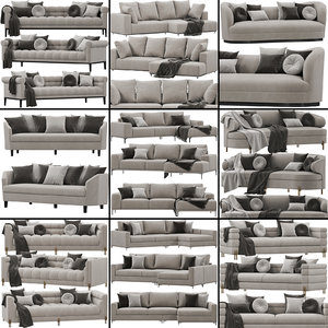 3D eichholtz sofa