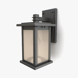 3D outdoor wall lantern 21
