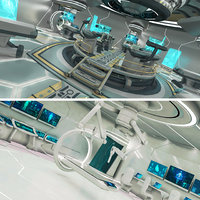 scifi futuristic 3D