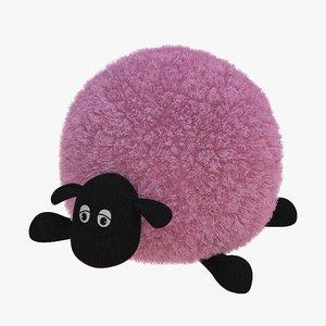 3D lamb toy 03 model