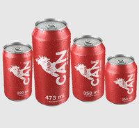 3D beverage drops