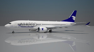 alafco boeing 737 8 3D