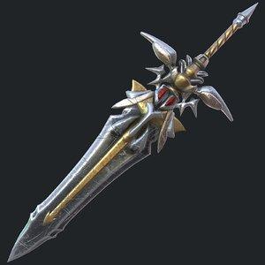 fantasy sword 19 3D
