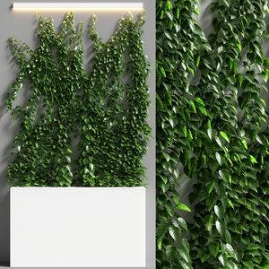vertical garden 08 3D