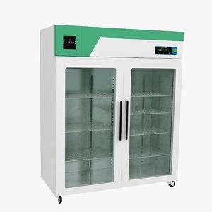 laboratory refrigerator 3D model