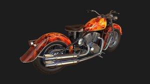 motorcycle motor model