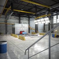 crash test laboratory model