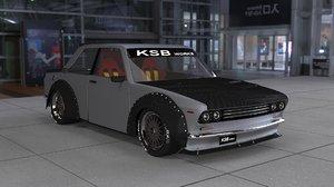 3D gtr 510 model