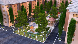3D nasimi cityscape model
