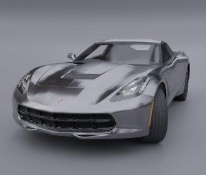 chevrolet corvette c7 car model
