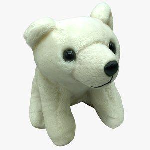 plush icebear model