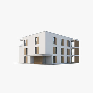 apartment house 3D