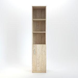 3D wood wooden cabinet