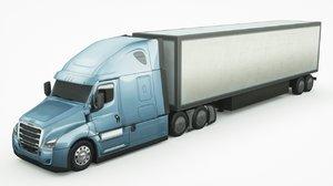 freightliner ecascadia 2020 3D model