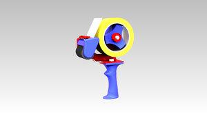 tape dispenser 3D
