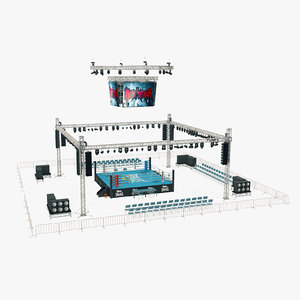 3D boxing arena