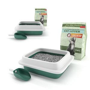 toilet cats 3D model