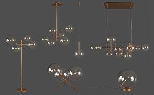 bolle lamp 3D model