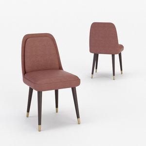 architectural visualization cortina chair 3D model