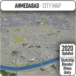 ahmedabad surrounding - model