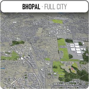 bhopal surrounding - 3D