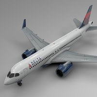 DELTA AIRLINES Airbus A220-300_L580