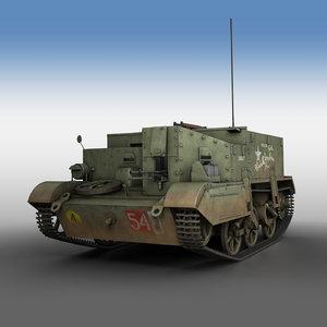 bren gun carrier - 3D model