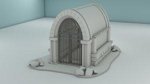 crypt landscape plot model
