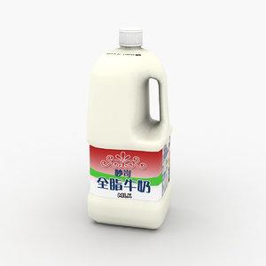 3D milk