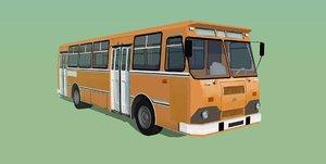 soviet bus 3D model
