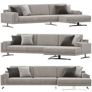 doimo salotti york sofa 3D