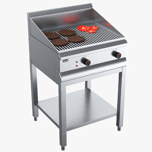 grill modeled model