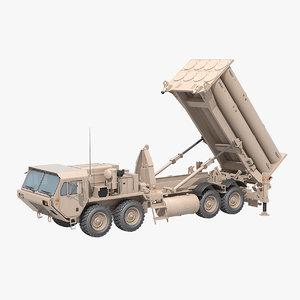 terminal altitude area defense 3D model
