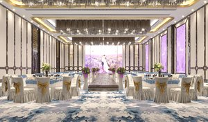 3D wedding restaurant