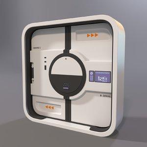 3D door laboratory