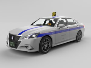 japanese taxi model