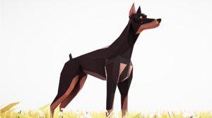 dog animations model