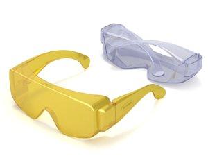 3D glass safe safety model