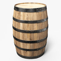 Wooden Barrel Walnut B