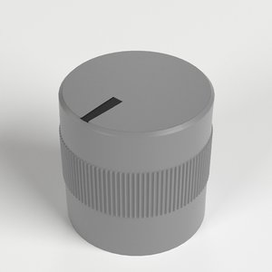 small knob 3D model