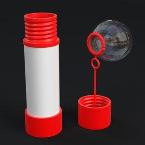 soap bubbles kit model