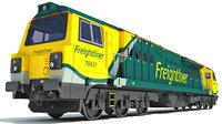 3D british rail class 70