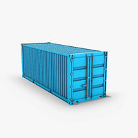 ready shipping container model