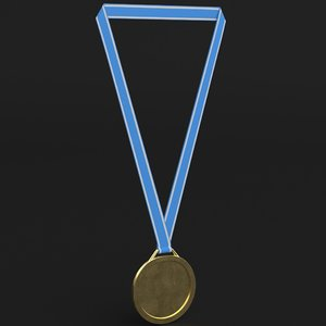 3D sport medal model