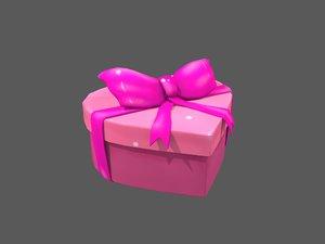 3D heart gift box
