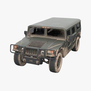 3D model h1 hummer general